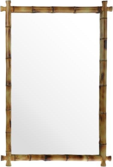Miroir avec cadre en bambou Tropic - HKliving