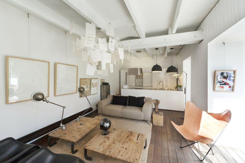 D couvrez comment le luminaire devient un l ment - Decoration interieur industriel ...