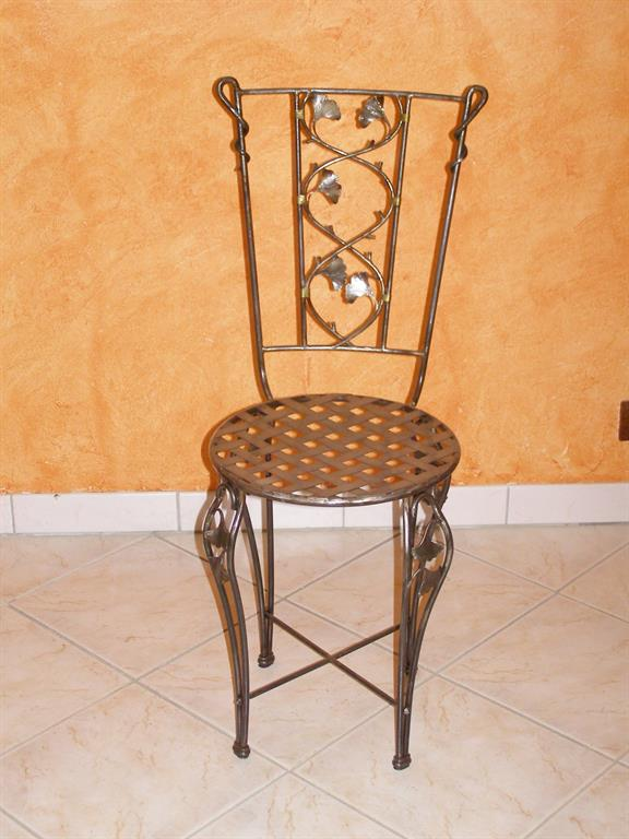 Chaise ginkgo