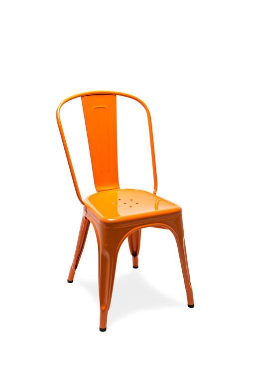 Chaise A orange