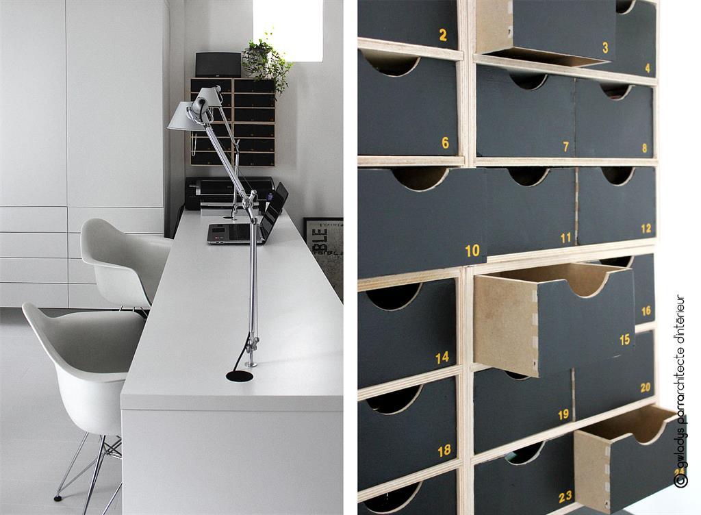Des astuces pour optimiser l 39 espace d 39 un petit studio sans for Amenagement bureau petit espace