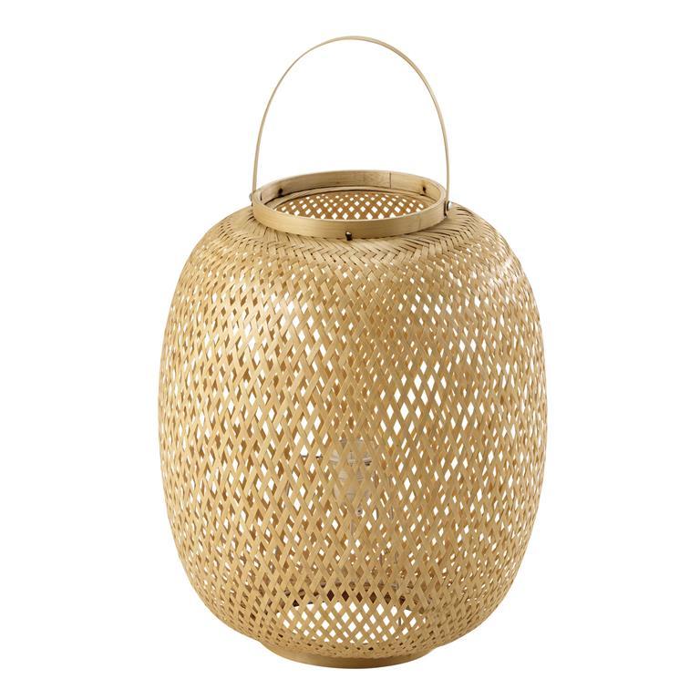Lampe en bambou H 62 cm PANAMA