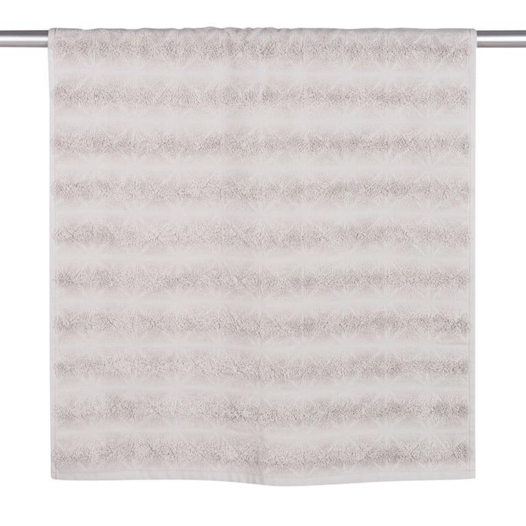 Serviette en coton motifs losanges 50x100