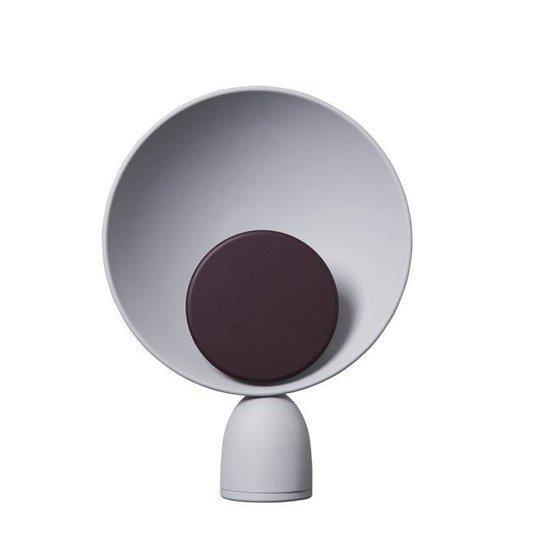 Lampe Blooper Gris cendré et violet - Please wait to be seated