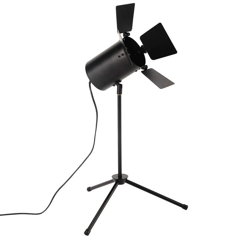 Lampe en métal noire H 52 cm MAKING OF