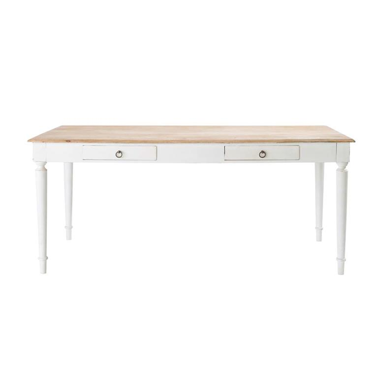 Table de salle à manger en manguier L 180 cm Bergerac