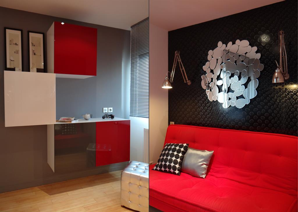 Salon au design contemporain un amour de maison photo n 14 for Salon design contemporain