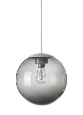 Suspension Spheremaker / Ø 25 cm - Fatboy gris foncé en matière plastique