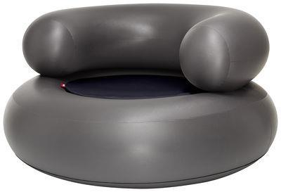 Chaise gonflable Ch-air / Galette d´assise - Fatboy bleu foncé