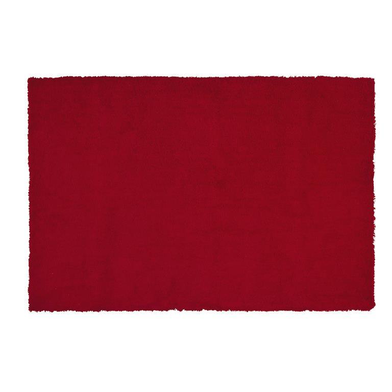 Tapis Imitation Fourrure Rouge 120x180 Maisons Du Monde