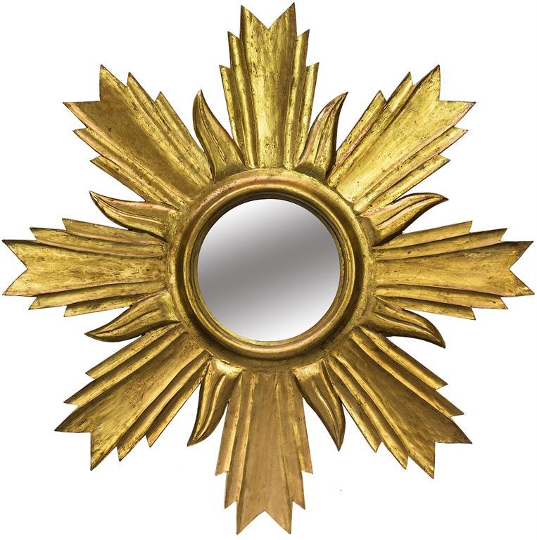 Miroir petit soleil mis en demeure ref csll1720 00 for Petit miroir soleil