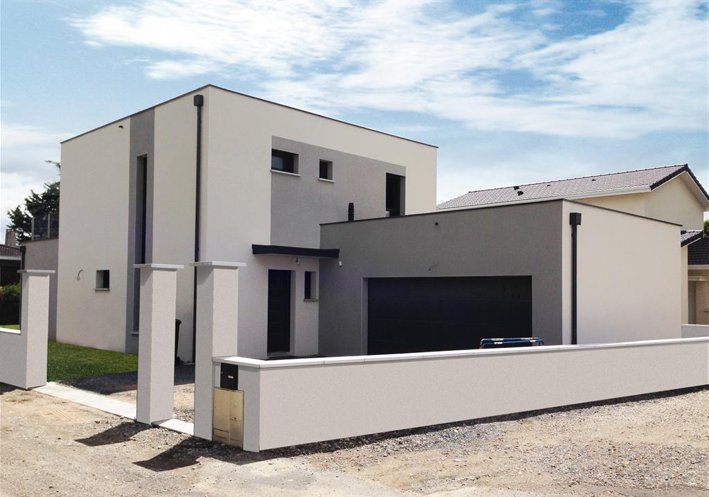 Conception d'une maison d'architecte en région lyonnaise