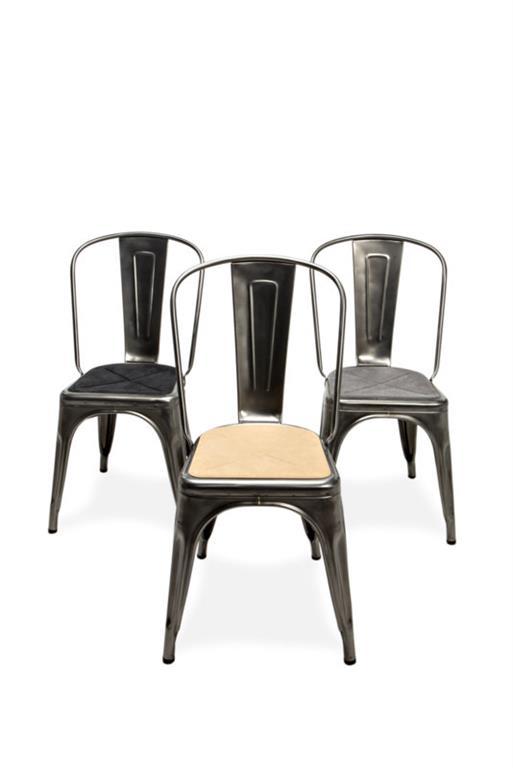 Galettes souples aimantées pour chaises
