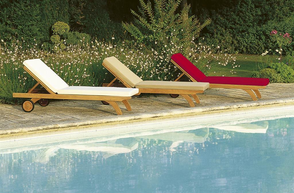 Pourquoi choisir un mobilier en teck quand les meubles de - Chaises longues de piscine ...