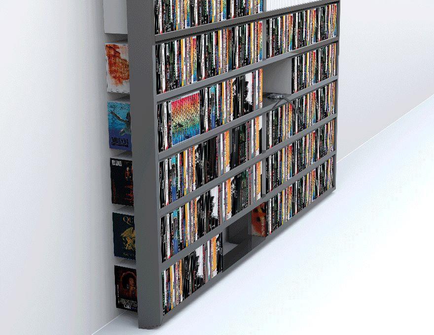 Bibliothèque Wall Disc Laquée