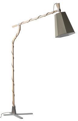 Lampadaire LuXiole H 225 cm - Designheure blanc