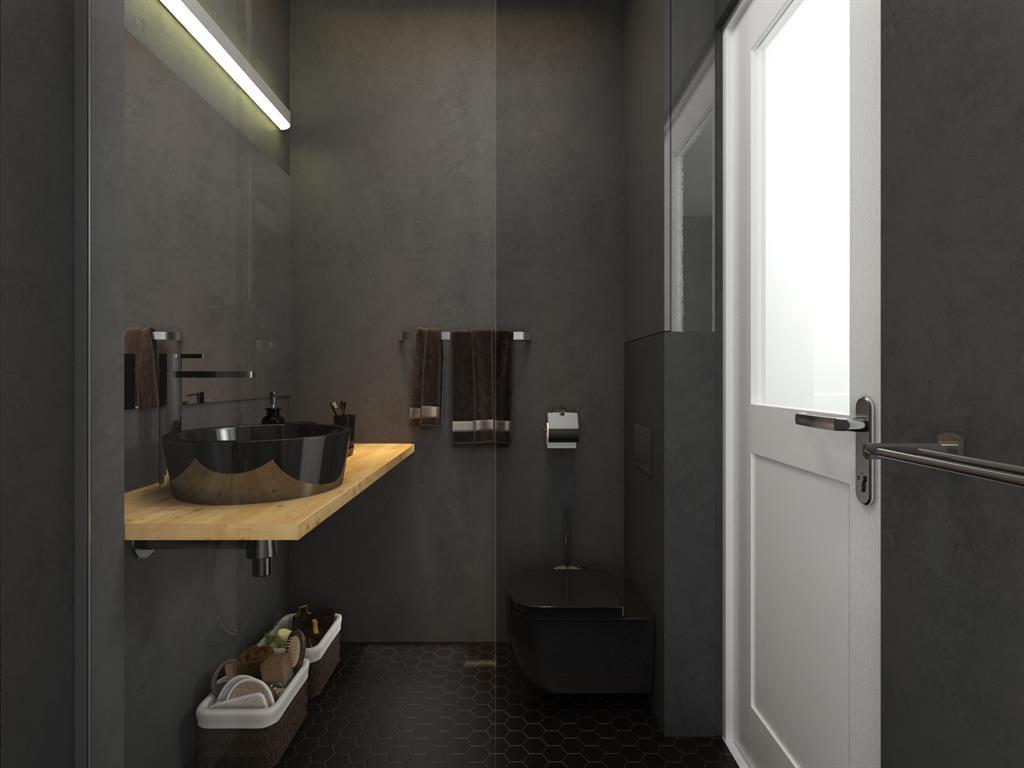Salle de bain par karine perez - Salle de bain petit espace design ...