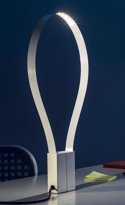 Lampe de table Fluida / Bande LED flexible - Martinelli Luce blanc
