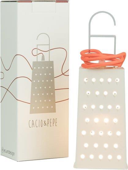 Lampe portative blanche Caccio&Pepe - In-es