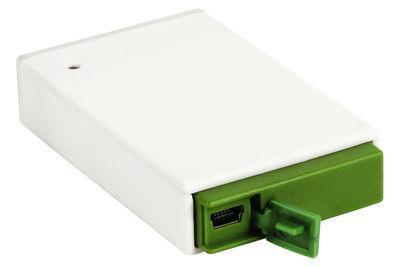 Lampe de poche Maizy rechargeable USB - Lexon Blanc