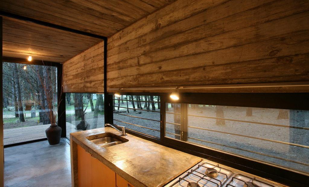 Cuisine Avec Matériaux Naturelle Maison Bois Du0027Architecte