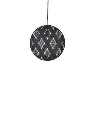 Suspension Chanpen Diamond / Ø 19 cm - Forestier noir en tissu