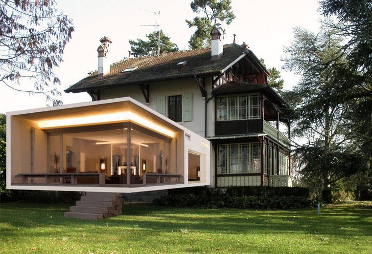 extension maison ancienne pierre id e logiciel extension maison - Logiciel Agrandissement Maison