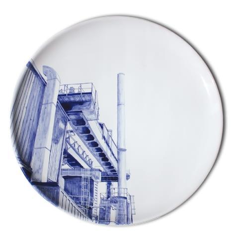 Assiette industrielle