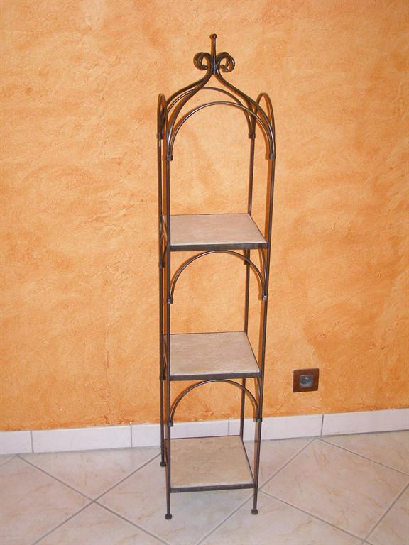 colonne support pot de fleur