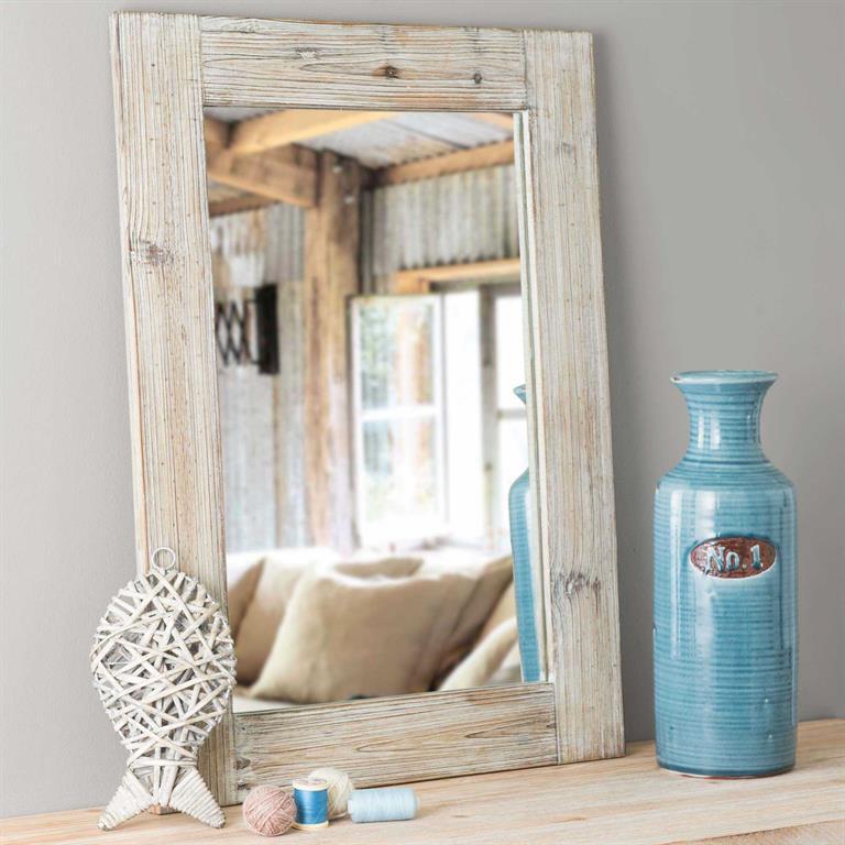 Miroir en bois H 70 cm TOSCANA