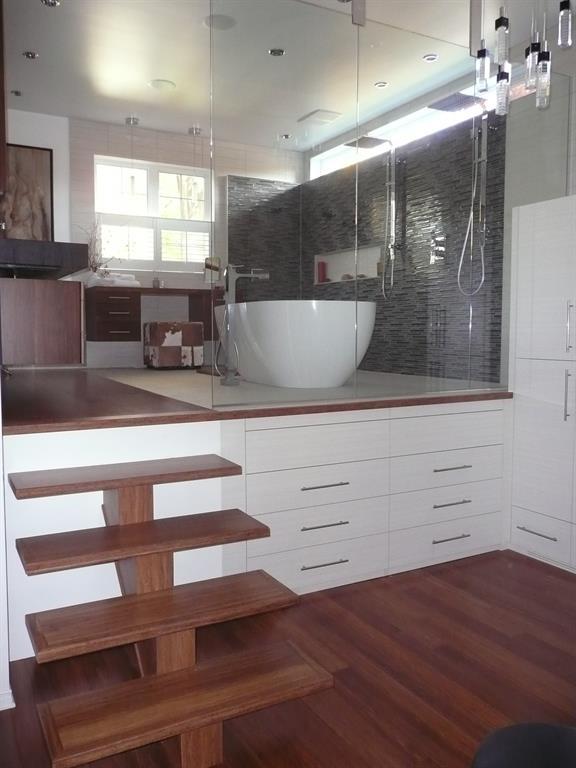 suite parentale avec salle de bain ouverte mg98 jornalagora. Black Bedroom Furniture Sets. Home Design Ideas