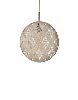 Suspension Chanpen Diamond / Ø 26 cm - Forestier beige en tissu