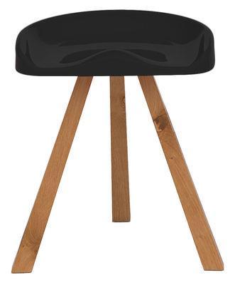 tabouret heidi plastique bois established established sons. Black Bedroom Furniture Sets. Home Design Ideas