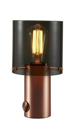 Lampe de table Walter 1 / H 27 cm - Verre