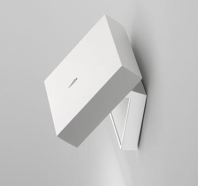 Applique Alpha LED - Vibia blanc en matière plastique