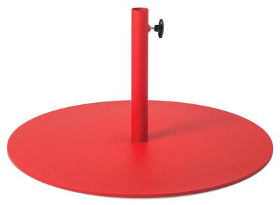 Pied de parasol - Fatboy rouge en métal