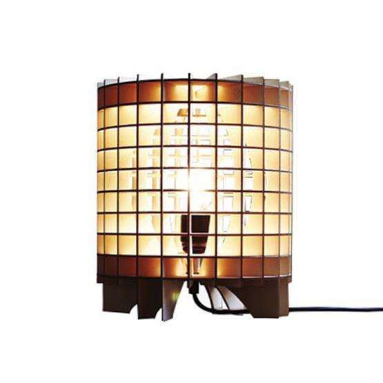 Lampe en bois Cryptex - Massow Design