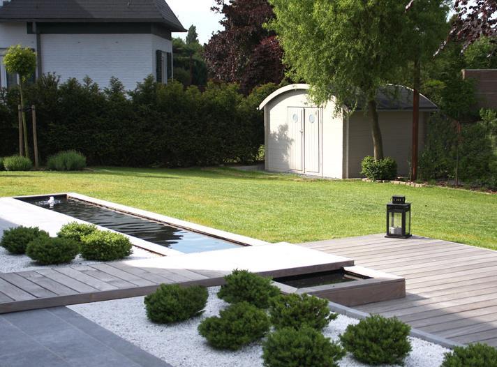 Jardins modernes id es d 39 am nagement par marion arnoud loherst - Idee jardin contemporain ...