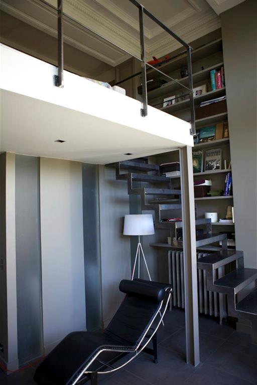 Réaménagement d'une chambre en duplex