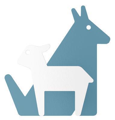 Patère Le Loup et l'Agneau - ENOstudio blanc