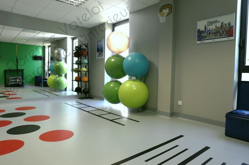 salle de sport du cabinet de kin sith rapie florence vatelot d coratrice d 39 int rieur. Black Bedroom Furniture Sets. Home Design Ideas