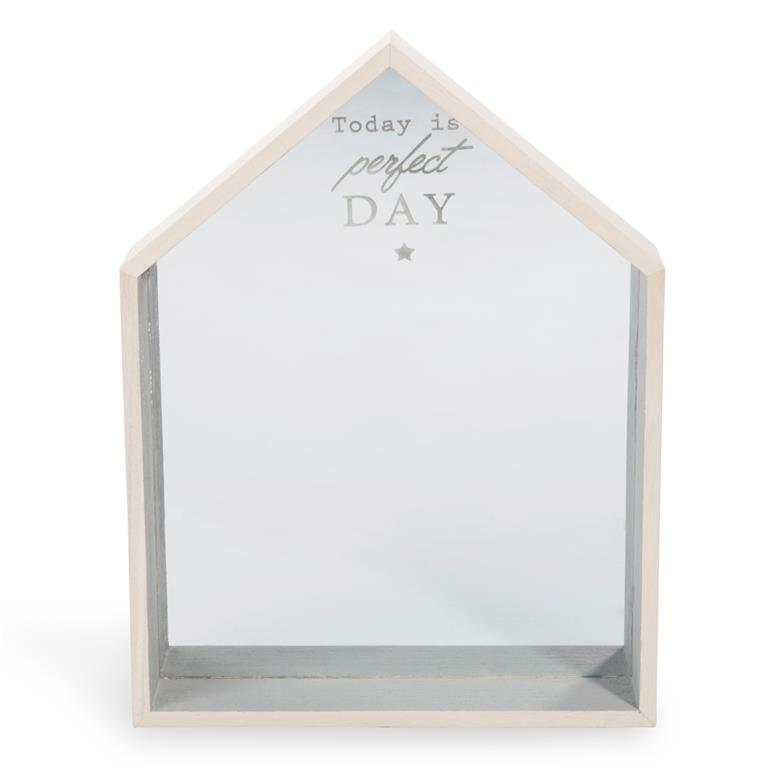 Miroir en bois 23 x 31 cm PERFECT HOME