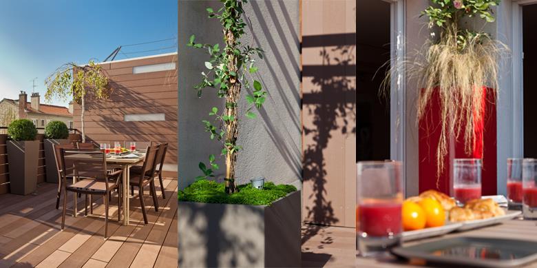 Terrasse designée par AD Concept Garden