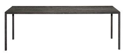 Table Tense Material / 90 x 200 cm - Chêne bruni