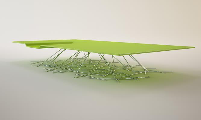 Table basse avec plateau en verre ou en corian florent - Table basse avec plateau en verre ...