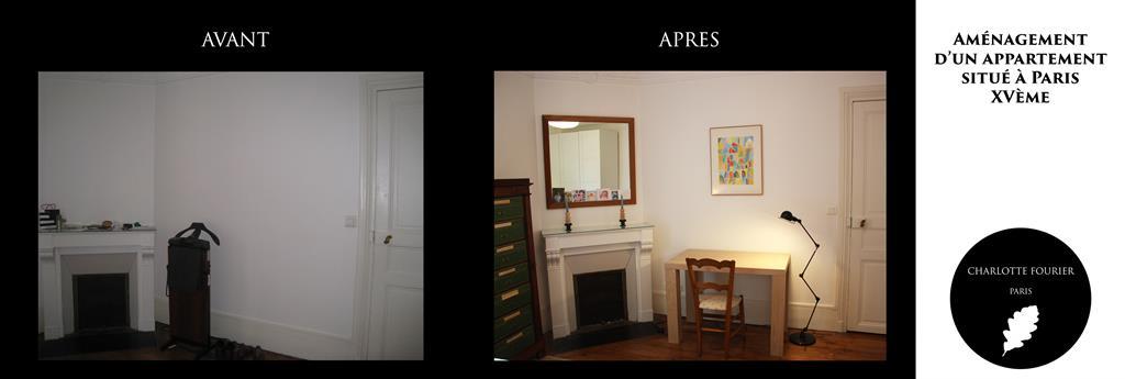 D Coration D 39 Une Chambre Dans Un Appartement Parisien