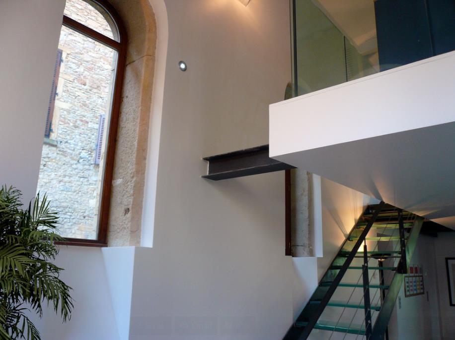 Escalier En Verre Et M Tal Jean Yves Arrivetz Photo N 89