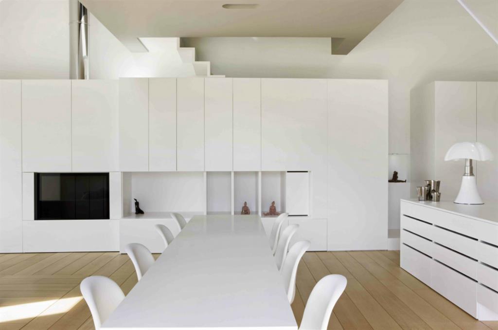 Salle A Manger Contemporaine Blanche - salle manger contemporaine ...