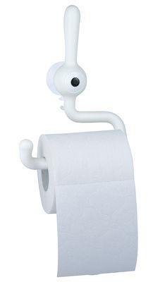 Dérouleur de papier toilette Toq - Koziol blanc en matière plastique