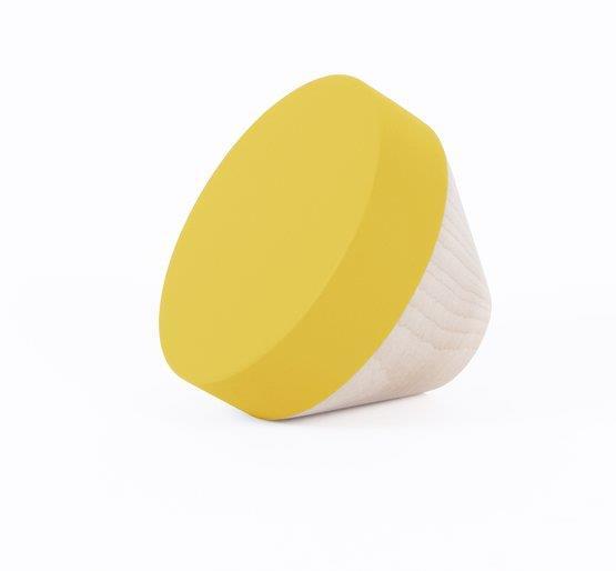 Patère jaune M Clou - ENOstudio